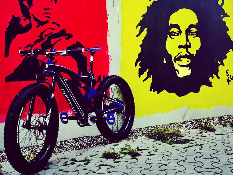 wicked E-Bike Art
